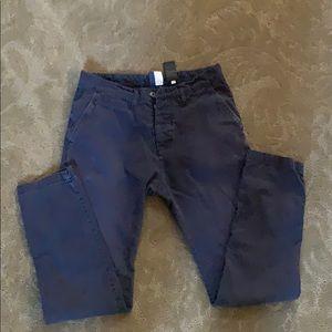 H&M men's button fly pants